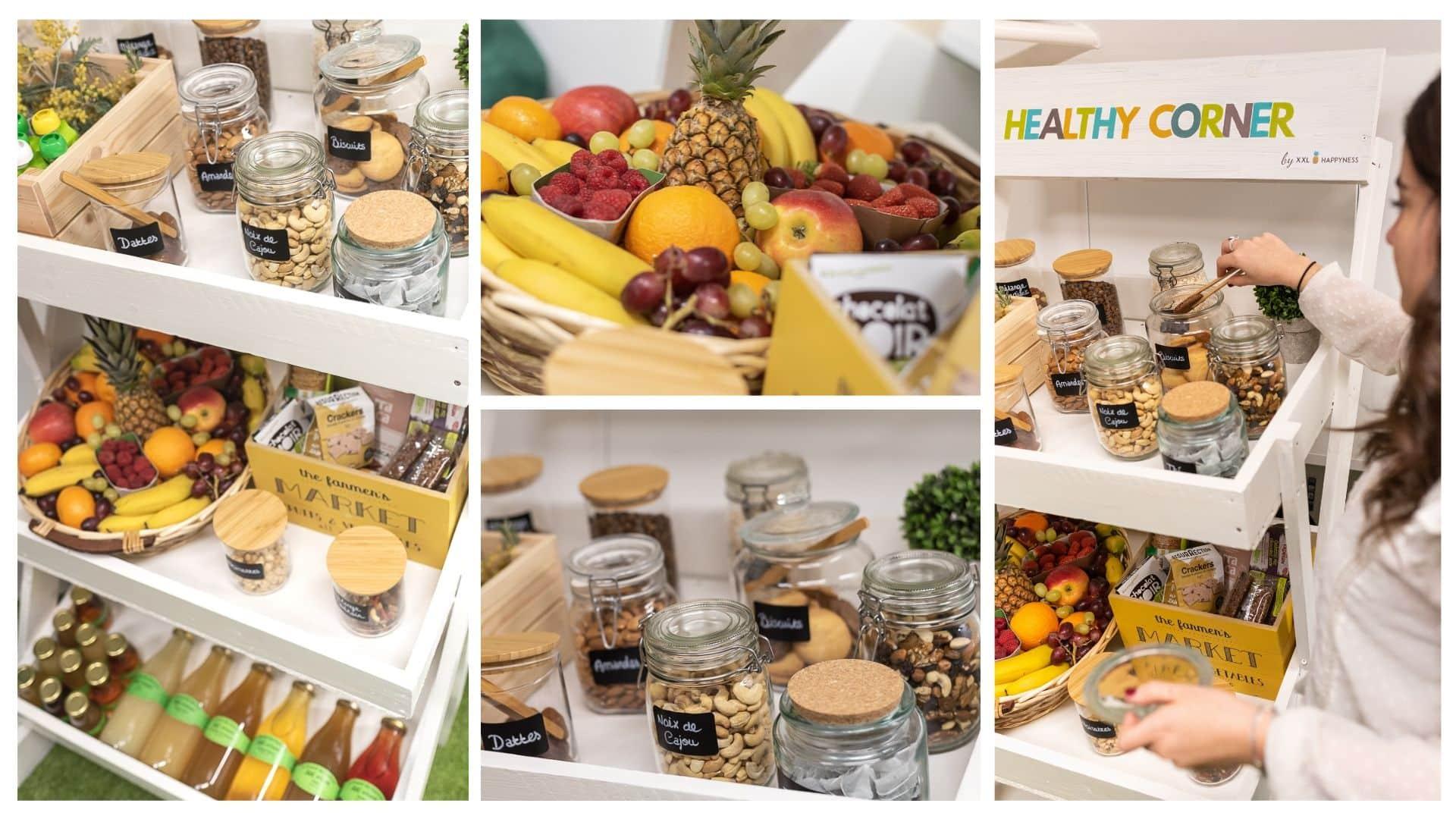 bien être au travail et nutrition le Healthy Corner pour la santé au travail