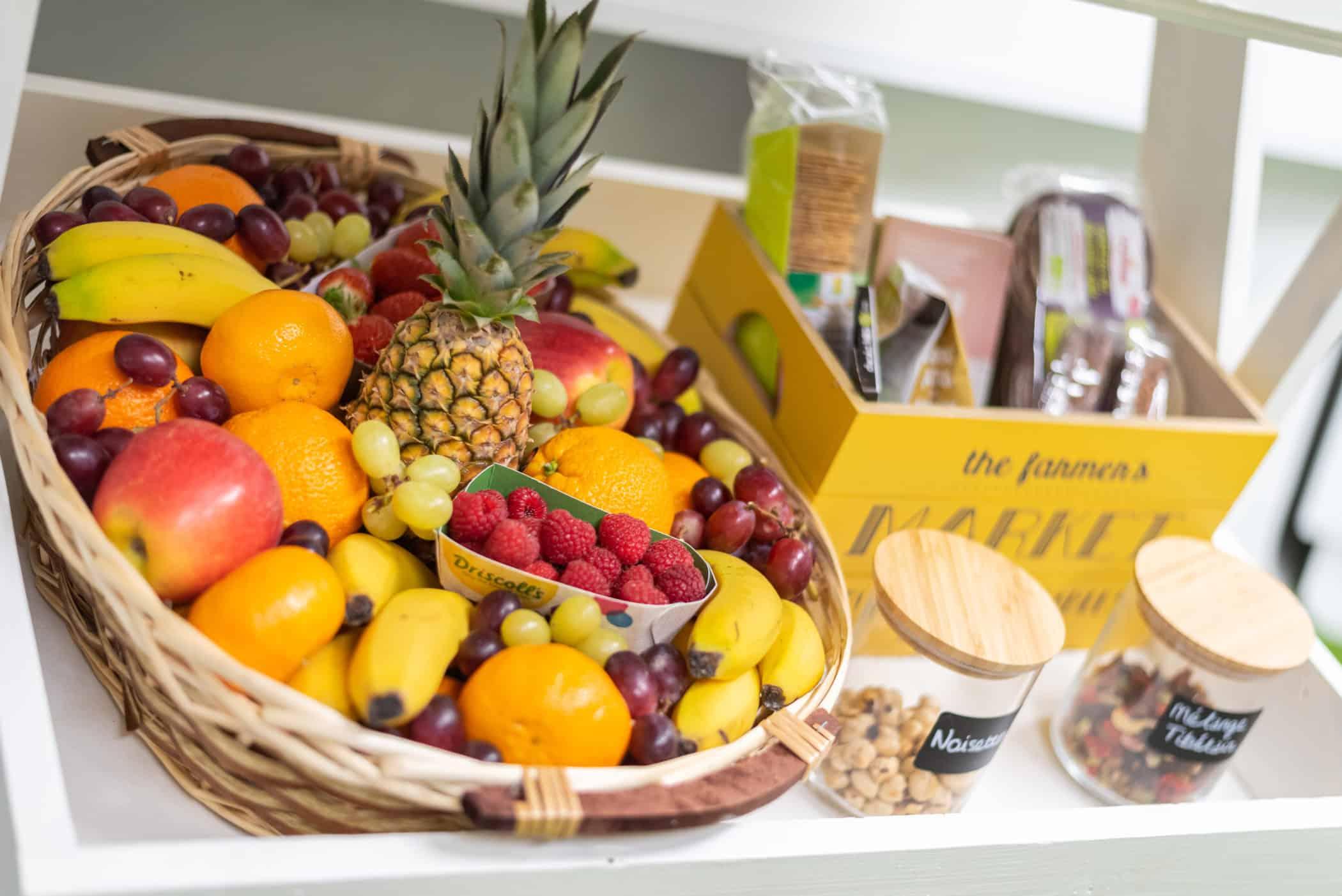 bien-être en entreprise livraison de fruits frais Bordeaux