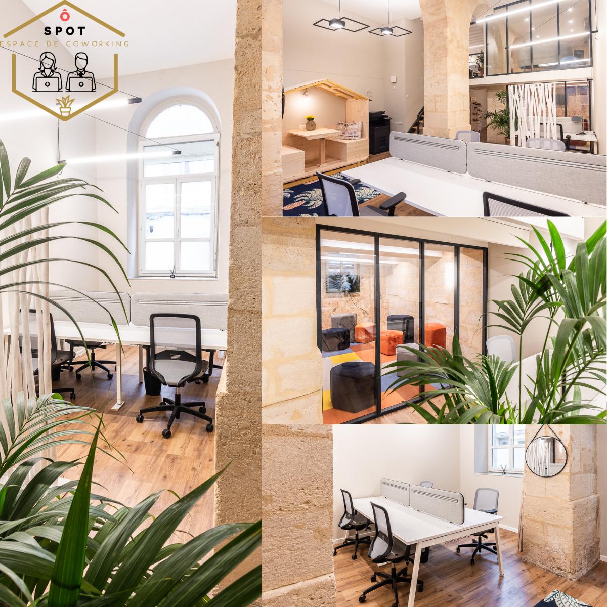 Ô Spot, nouvelles espace de coworking, situé en plein coeur des Chartrons.